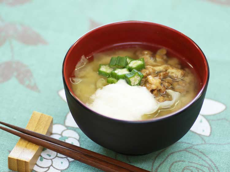 味噌汁 長芋