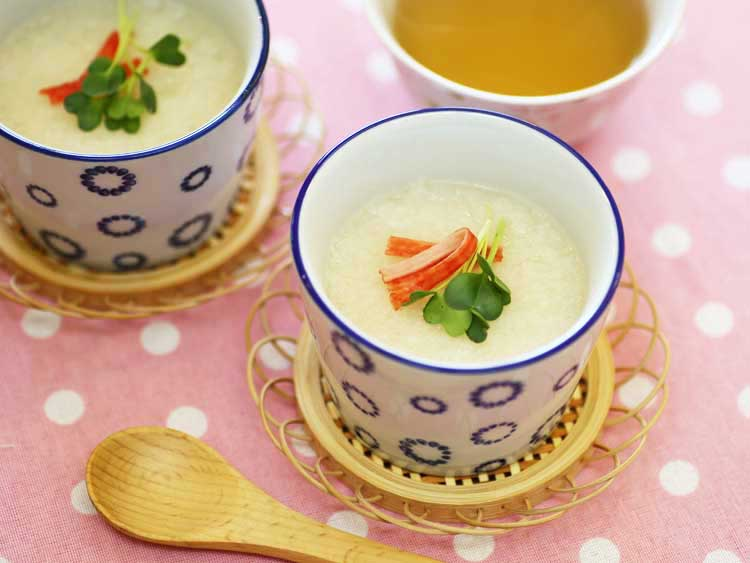 もちトロ茶碗蒸し(2人分)